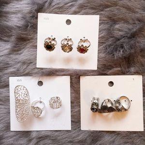 NWT H&M Rings bundle